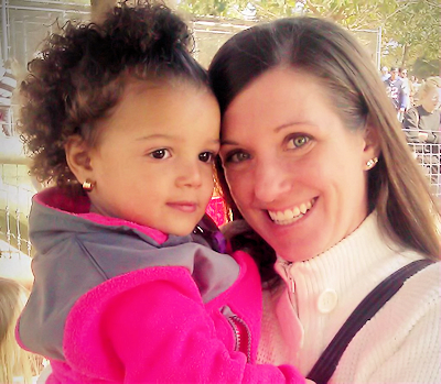 Kyanna Harris with Mom Regina -- Yachtstock 2015 Beneficiary