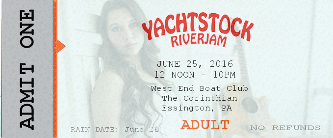 Ticket Yachtstock 2016 ADULT